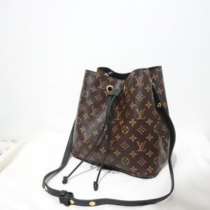 Louis Vuitton neonoe black monogram